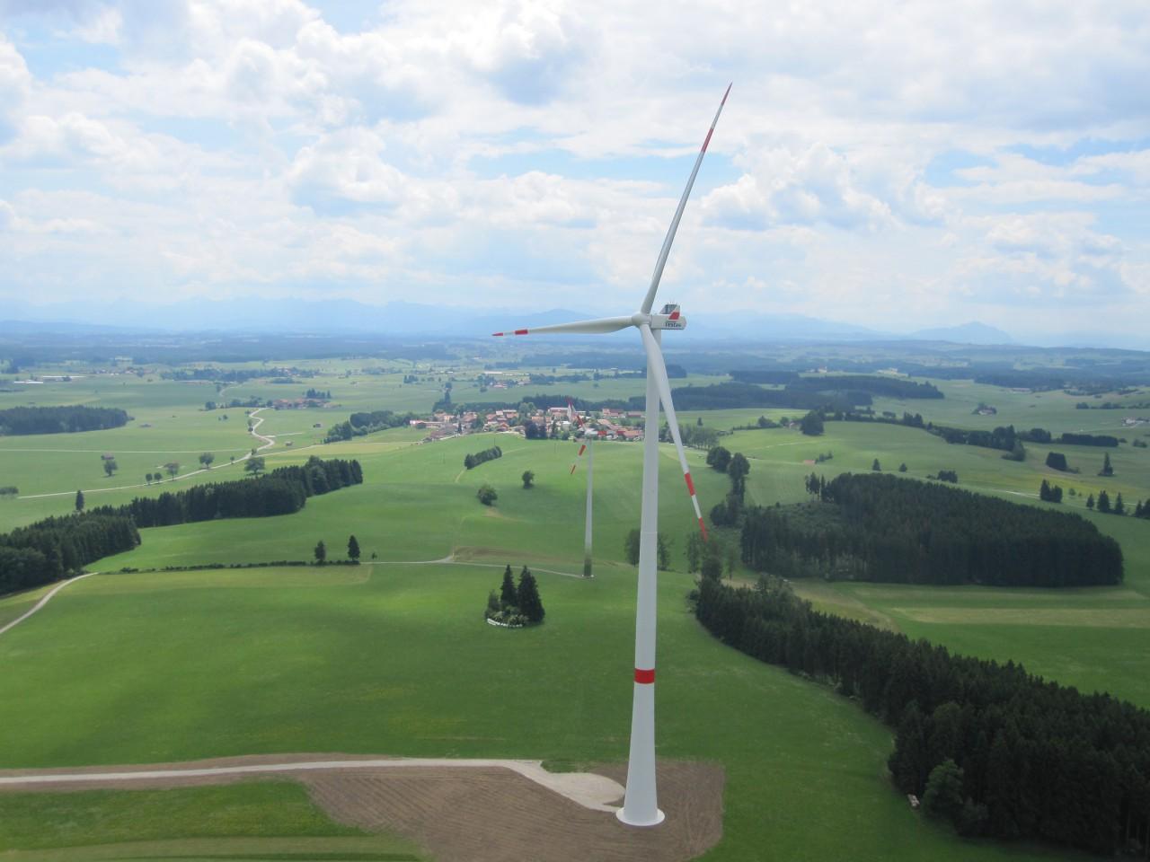 Deutschlandweit Die Erste Abnahme Einer Vestas V126