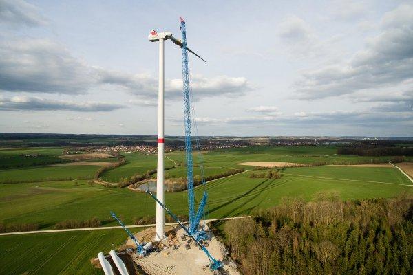 Reencon Baut Windkraftanlagen